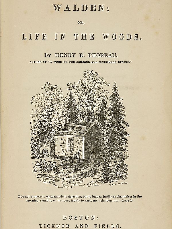 Cover of essay by Thoreau
